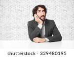 Boring Businessman With Sit...