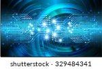 dark blue color light abstract... | Shutterstock .eps vector #329484341