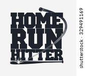 baseball emblem   graphics for... | Shutterstock .eps vector #329491169