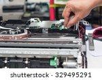 printer repairing by a... | Shutterstock . vector #329495291