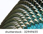 unique glass roof background | Shutterstock . vector #32949655