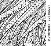 tracery calming pattern.... | Shutterstock . vector #329500214