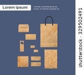 brochure  flyer  magazine... | Shutterstock .eps vector #329502491