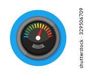 flat vector icon   illustration ... | Shutterstock .eps vector #329506709