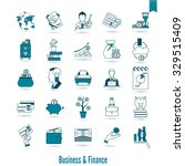 business and finance  flat icon ... | Shutterstock .eps vector #329515409