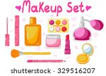 set of cosmetics. makeup set | Shutterstock .eps vector #329516207