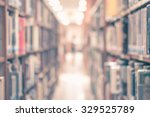vintage style blur school... | Shutterstock . vector #329525789
