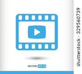 video icon. one of set web icons