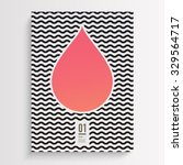 abstract minimal flyer or book... | Shutterstock .eps vector #329564717