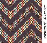 seamless zigzag pattern.... | Shutterstock .eps vector #329590499