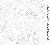 topographic map seamless... | Shutterstock .eps vector #329609984