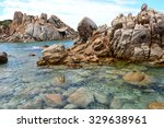 granite coast of northern... | Shutterstock . vector #329638961
