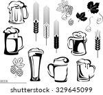 beer  beer mug  hop  vector ...   Shutterstock .eps vector #329645099
