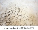 ground in drought  soil texture ... | Shutterstock . vector #329654777