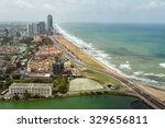 Aerial View Of Colombo And...