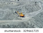 quarry for extraction of... | Shutterstock . vector #329661725