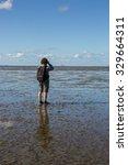 Maritime Landscape At Low Tide...