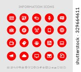 information flat design icons ...