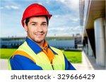worker. | Shutterstock . vector #329666429
