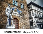 Palazzo Vecchio Front View Wit...