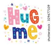 hug me   Shutterstock .eps vector #329677109