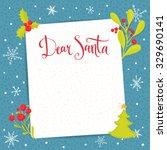 Dear Santa   Letter To Santa...
