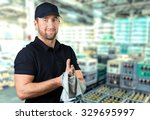 mechanic. | Shutterstock . vector #329695997