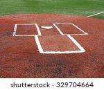 Baseball   Home Plate And...
