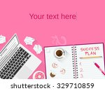 business plan   startup... | Shutterstock .eps vector #329710859