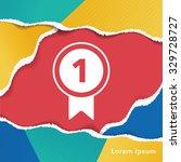 medal icon | Shutterstock .eps vector #329728727