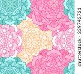 seamless pattern. vintage... | Shutterstock .eps vector #329742731
