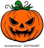 jack o lantern | Shutterstock .eps vector #329746487