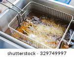deep fryer | Shutterstock . vector #329749997