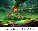 Illustration  The Magical Tree...