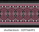 geometric ethnic pattern design ... | Shutterstock .eps vector #329766491