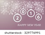 happy new year card with... | Shutterstock .eps vector #329776991