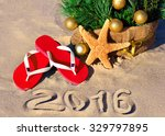 christmas tree with christmas... | Shutterstock . vector #329797895