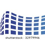the blue vector abstract... | Shutterstock .eps vector #32979946