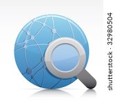 search internet. vector in... | Shutterstock .eps vector #32980504