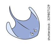Stingray Cartoon  Part Of The...