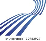 the blue vector abstract... | Shutterstock .eps vector #32983927