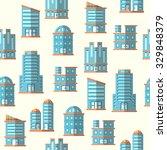 vector building seamless... | Shutterstock .eps vector #329848379