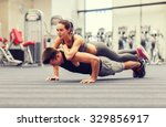 fitness  sport  training ... | Shutterstock . vector #329856917