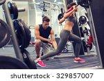 sport  fitness  teamwork ...   Shutterstock . vector #329857007