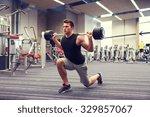 sport  bodybuilding  lifestyle... | Shutterstock . vector #329857067
