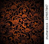 halloween background. ... | Shutterstock . vector #329857847