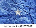 somalia flag painted on... | Shutterstock . vector #329870087