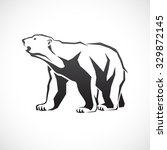 polar bear icon. | Shutterstock .eps vector #329872145
