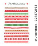 big set of christmas and new... | Shutterstock .eps vector #329872985