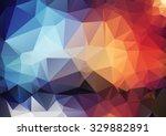 retro pattern of angular...
